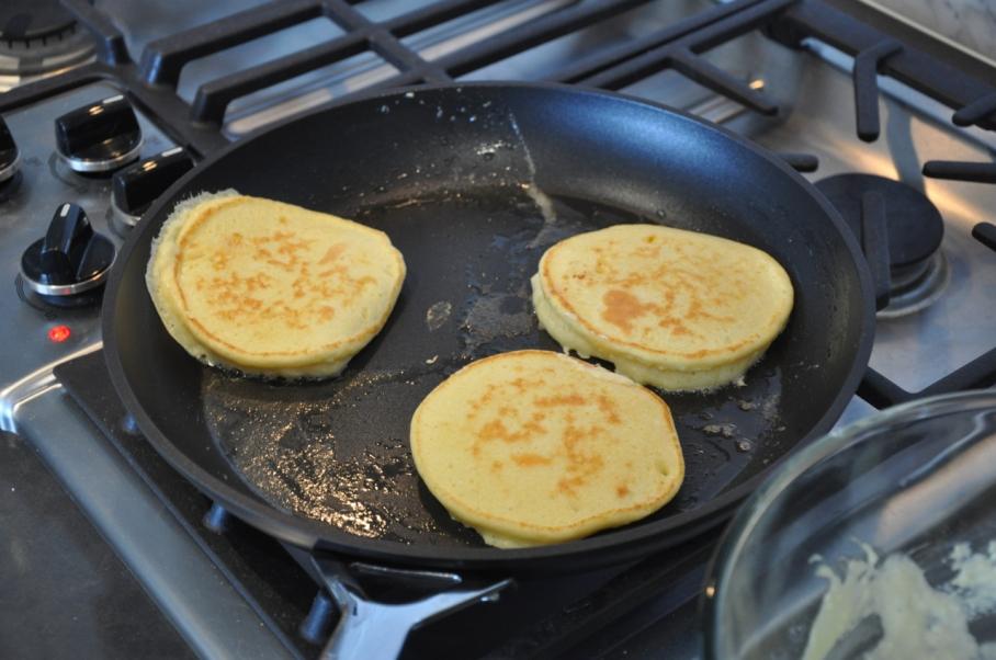 ... Good, Hotcakes Better – Bills Ricotta Hotcakes With Honeycomb Butter